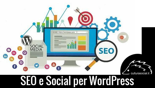 immagine presente sulla copertina del libro SEO e Social per Wordpress